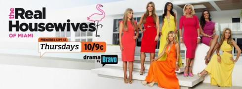 The Real Housewives of Miami returns for season two on Thursday, September 13 2012