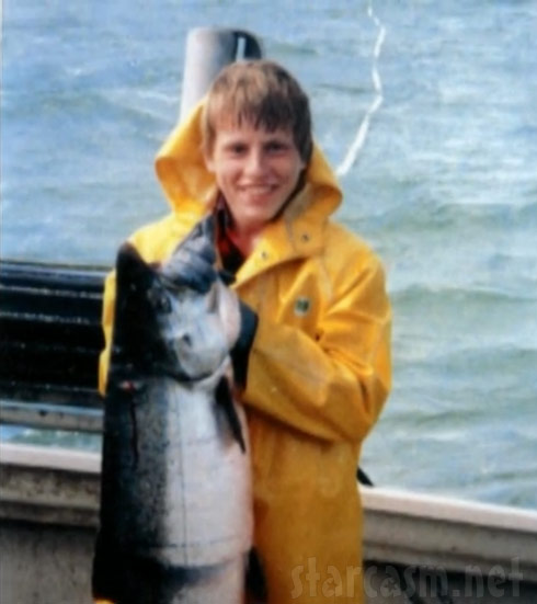 Deadliest Catch Norman Hansen as a young man fishing