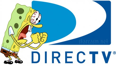 Spongebob Squarepants angry over Viacon DirecTV dispute