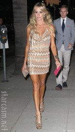 Taylor Armstrong at Kyle Richards' Kyle By Alene Too store opening party