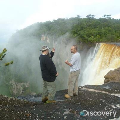 Gold Rush Alaska's Todd Hoffman and Dave Turin in Guyana South America