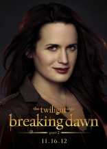 Twilight Saga Breaking Dawn Elizabeth Reaser Esme Cullen character poster