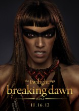 Twilight Saga Breaking Dawn Judith Shekoni Zafrina character poster