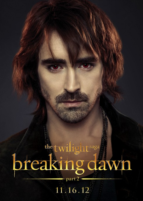 Twilight Saga Breaking Dawn Part 2 Lee Pace as Garrett character poster
