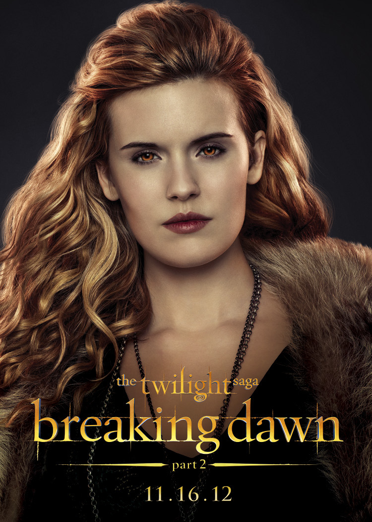Maggie Grace role in breaking dawn