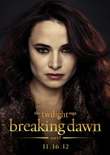 Twilight Saga Breaking Dawn Mia Maestro Carmen character poster