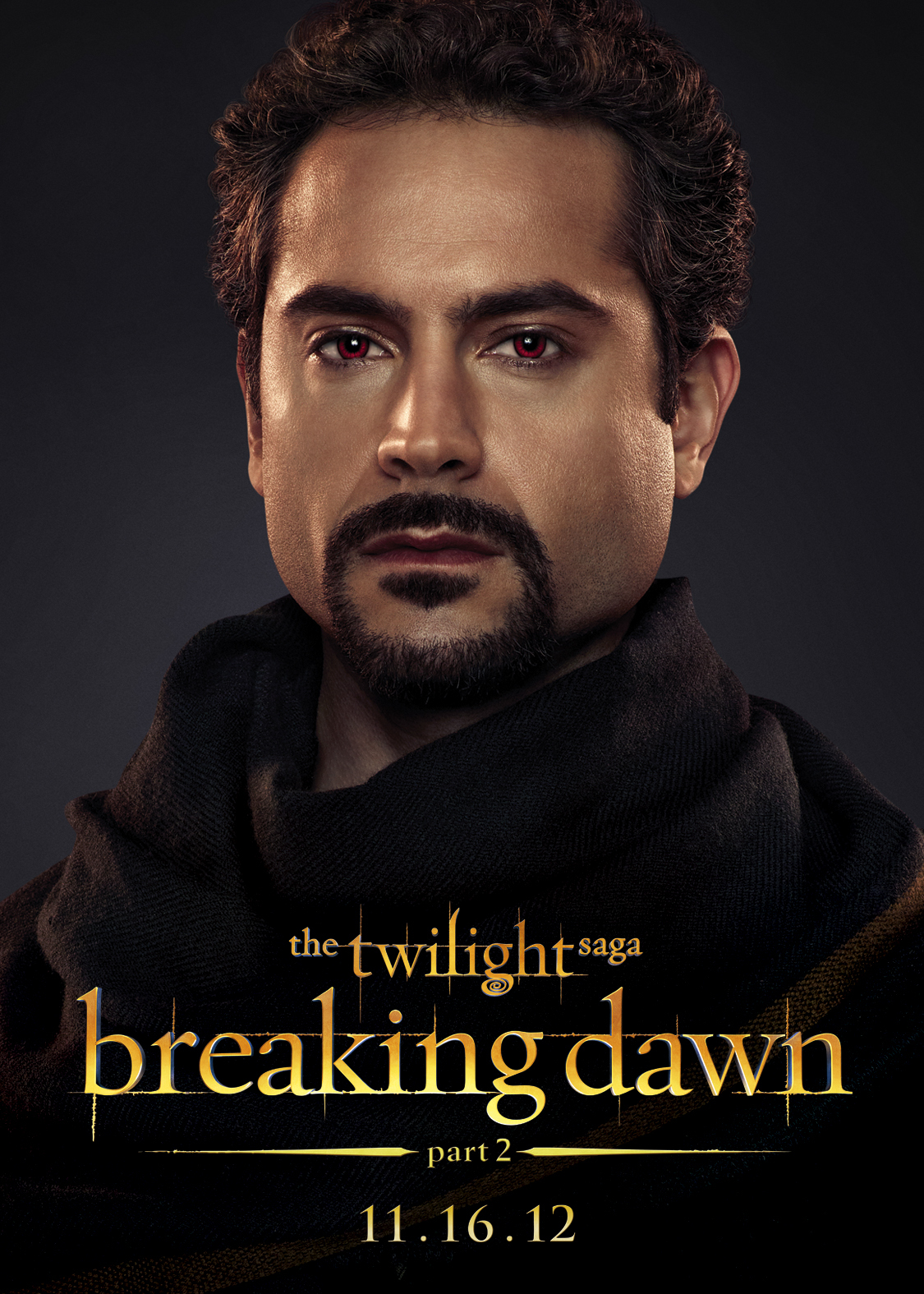 HI RES Twilight Saga Breaking Dawn Part 2 character posters (Men ...