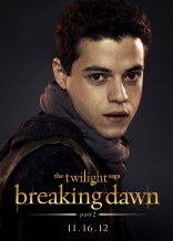Twilight Saga Breaking Dawn Part 2 Rami Malek Benjamin character poster