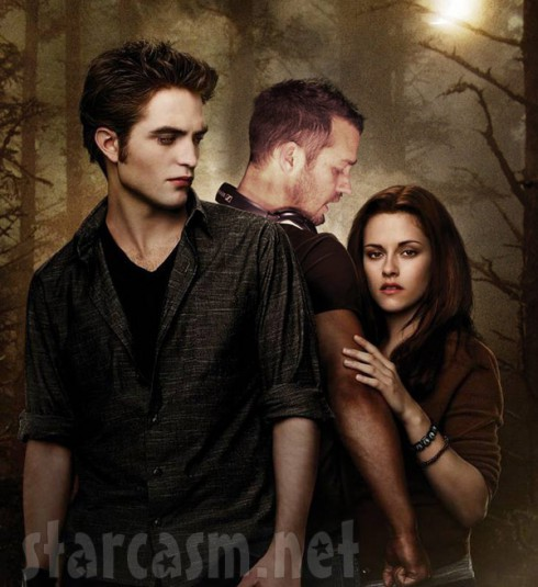 Robert Pattinson Rupert Sanders Kristen Stewart Twilight poster