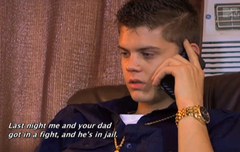 Tyler Baltierra on the phone