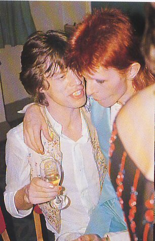 Mick Jagger bisexual with David Bowie