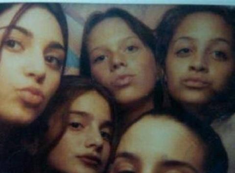 Kim Kardashian, 13, and Nicole Richie, 12