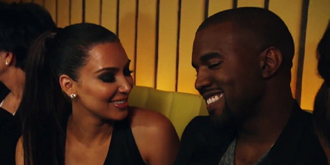 Kim Kardashian introduces Kanye West on 'Keeping Up With The Kardashians'