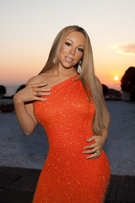 Mariah Carey American Idol promo photoshop