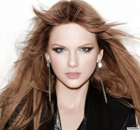 Taylor Swift brown hair