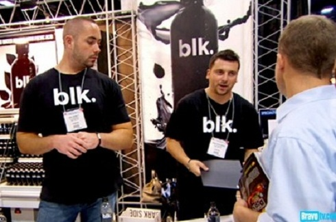 Greggy Bennett and Chris Manzo blk water