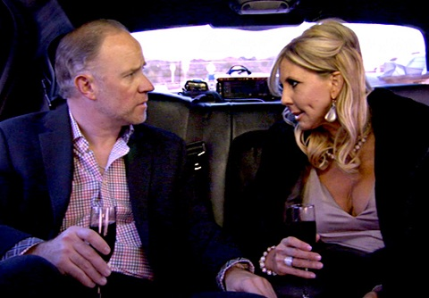 "Vicki Gunvalson and Brooks Ayers on ""Real Housewives of Orange County"""