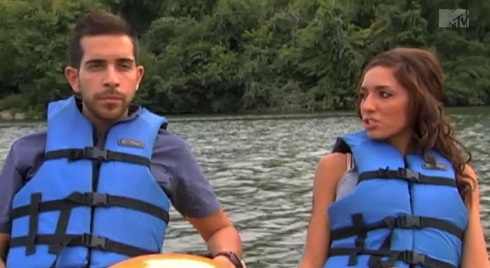 Farrah Abraham and Daniel Alvarez go paddle-boating