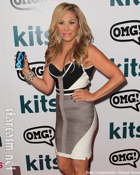 Adrienne Maloof at her promo for OMG Covers
