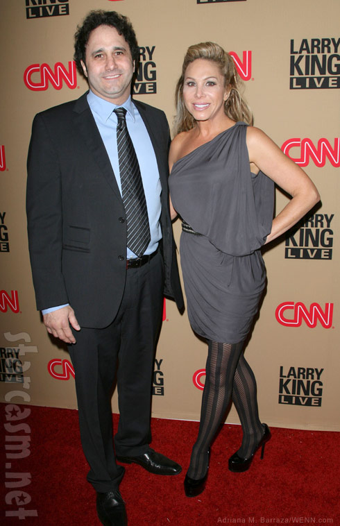 RHOBH's Adrienne Maloof and her brother George Maloof in 2010
