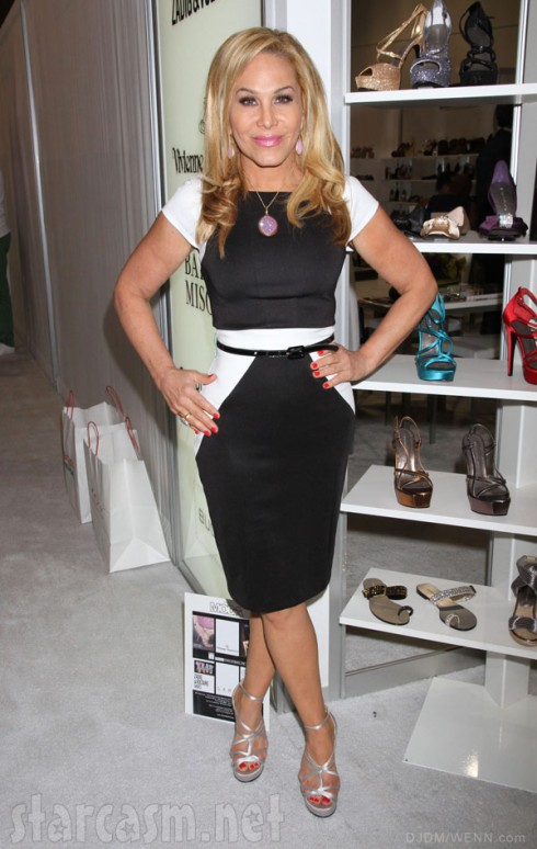 Adrienne Maloof at the Titan Industries booth at the 2012 MAGIC Convention