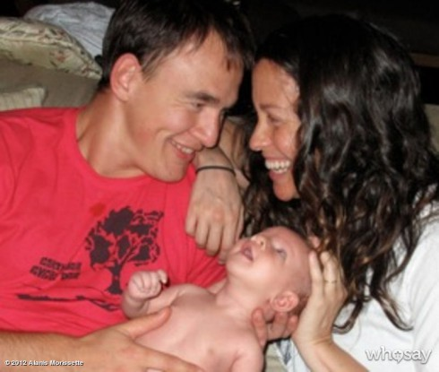 Mario Treadway Alanis Morissette and their son Ever Imre Morissette-Treadway