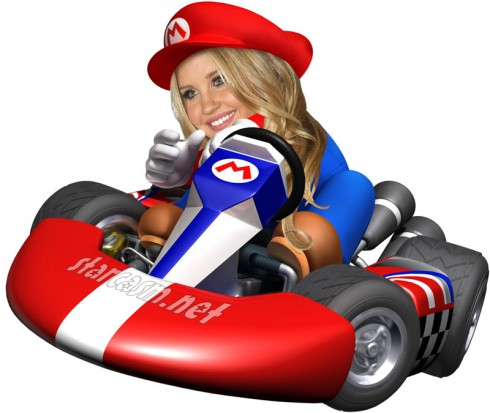 Amanda Bynes hit and run Mario Kart