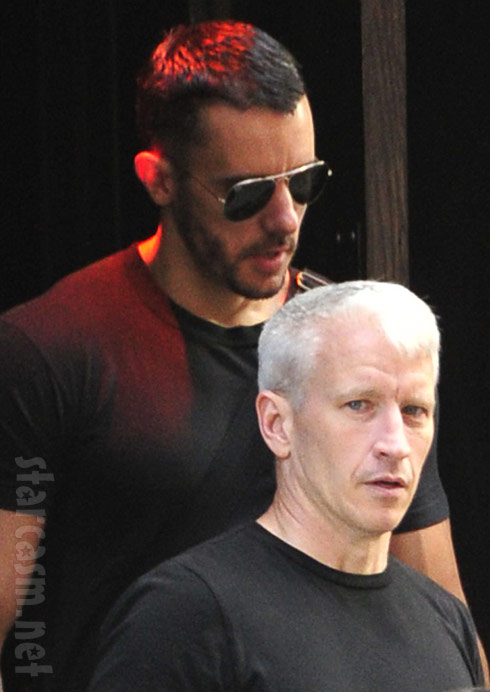 Anderson Cooper and boyfriend Ben Maisani together