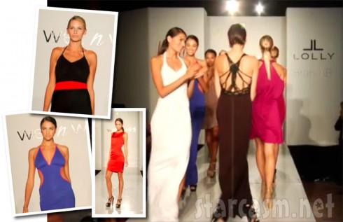 Brandi Glanville launches her Brand B fashion line at Nikki West