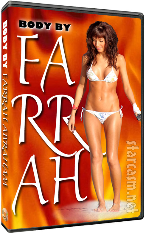 Teen Mom Farrah Abraham workout video fake cover