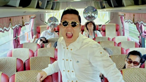 Viral South Korean music video Gangnam Style by PSY photo