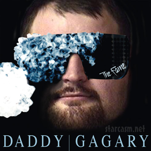 Gary Shirley Daddy Gaga album cover inspired by Lady Gaga's The Fame