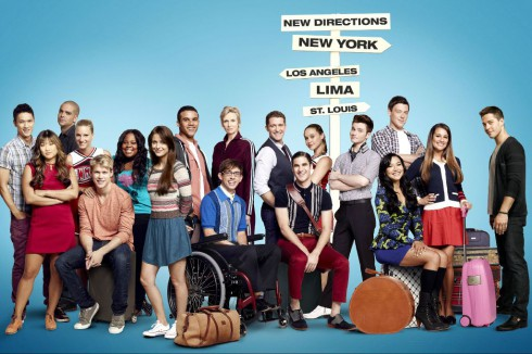 Glee Season 4 cast photo without Dianna Agron&#039;s character Quinn Fabray