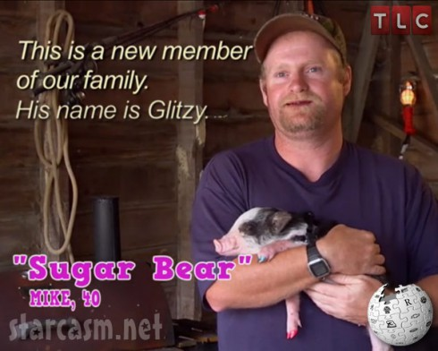 Alana's pet Glitzy the pig from Here Comes Honey Boo Boo