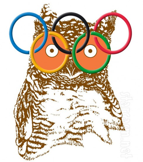Olympic rings Hooters logo