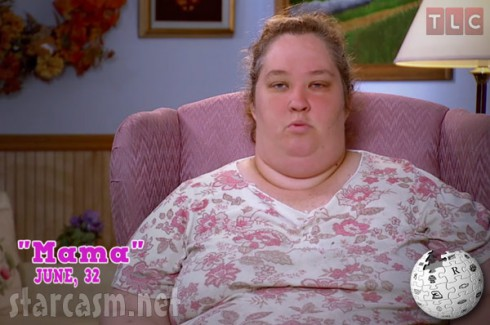 Alana's Mama June Shannon from Here Comes Honey Boo Boo
