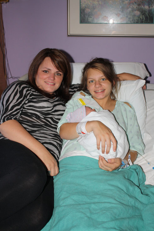 My Teen Is Pregnant And So Am I's Melissa Kristen and Hudson on TLC