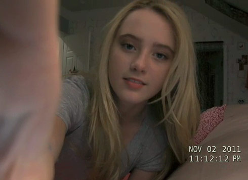 Paranormal Activity 4 scene from the trailer
