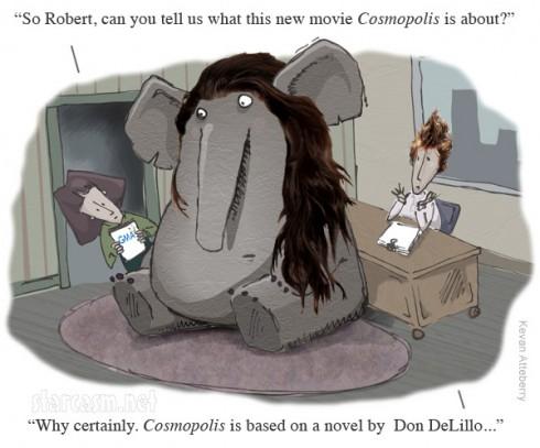 Robert Pattinson GMA interview not talking about Kristen Stewart like an elephant in the room
