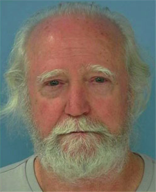 Mug shot of Hershel from The Walking Dead