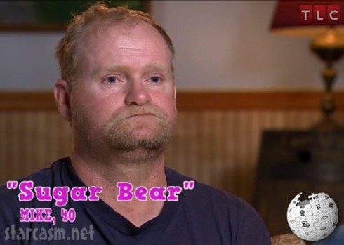 Alana Thompson's dad Sugar Bear Mike Thompson from Here Comes Honey Boo Boo