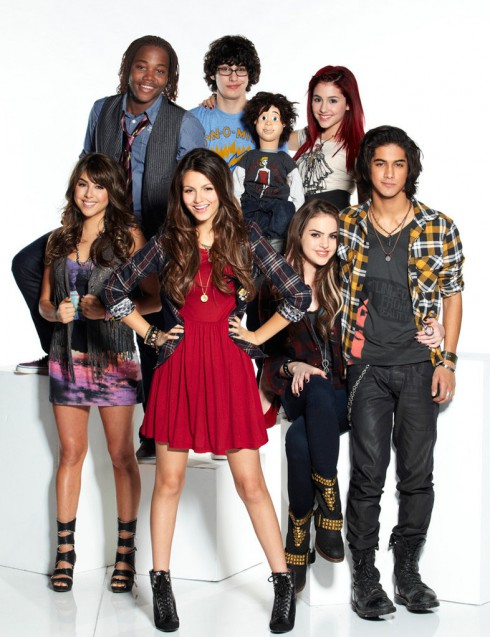 Victorious cast official Nickelodeon promotional photo