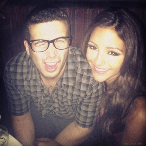 Jersey Shore's Vinny Guadagnino rumored to be dating Guy Code co-star MelanieIglesias