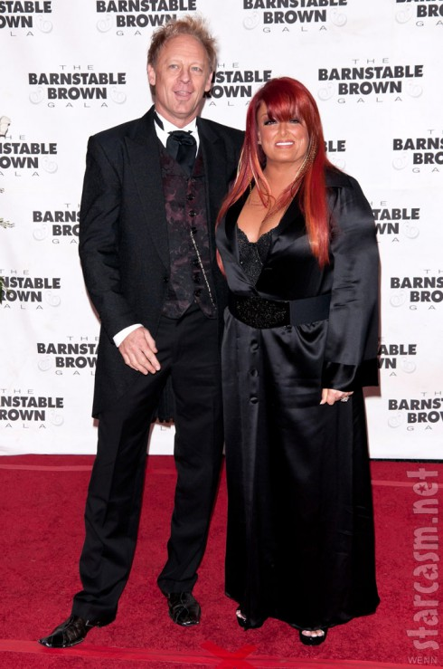 "Wynonna Judd and husband Michael Scott ""Cactus"" Moser"
