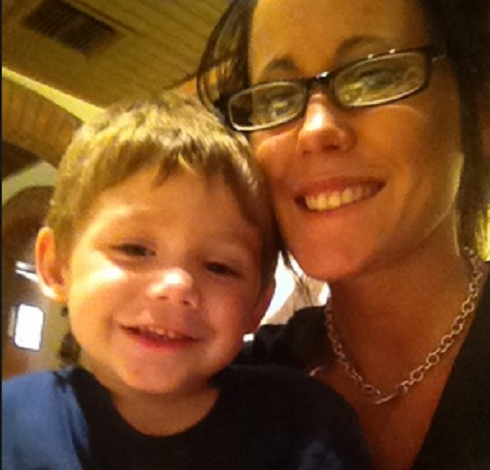 Teen Mom 2 star Jenelle Evans and her son Jace