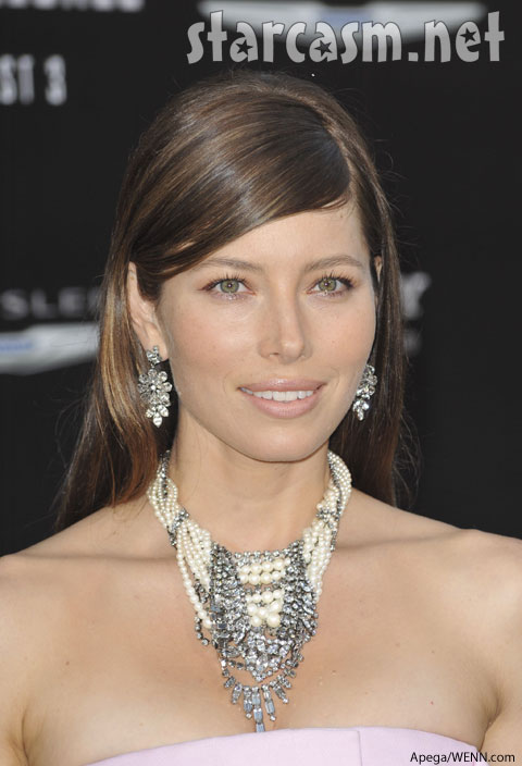 30-year-old Jessica Biel is at an exciting place in her life. She's engaged to Justin Timberlake (who wouldn't be stoked?) and she plays Melina in the Total Recall reboot (out this weekend.) But even