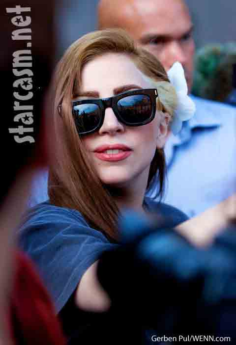 Lady Gaga new hair