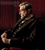 First official image of Daniel Day Lewis as Abraham Lincoln.