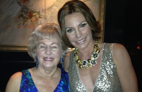 LuAnn de Lesseps and her mother Rolande Nadeau
