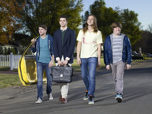 The Inbetweeners cast photo